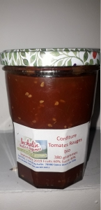 Confiture de tomates rouges 380 g